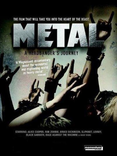 """фильм Metal """"A Headbanger's Journey"""""""
