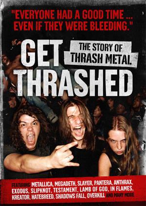 фильм про историю thrash-metal Get Thrashed