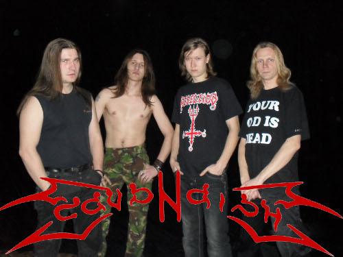 тульская black-death metal группа Cavandish