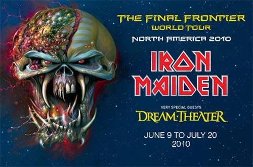 северо-американский тур Iron Maiden The Final Frontier
