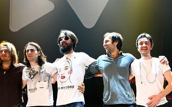 фото группы Океан Ельзи в туре Dolce Vita