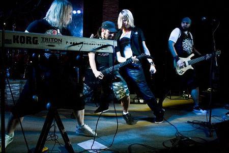 Арда на концерта в Туле, клуб VG
