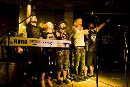 Арда на концерта в Туле, клуб Виноград
