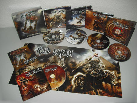 "Бокс-сет Iced Earth ""Box Of The Wicked"""