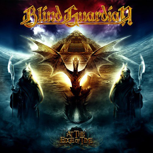 "Обложка диска Blind Guardian ""At the Edge of Time"""
