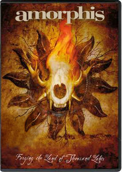 "обложка DVD Amorphis ""Forging The Land Of Thousand Lakes"""