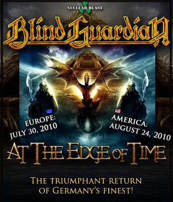"Вышел новый альбом Blind Guardian ""At the Edge of Time"""