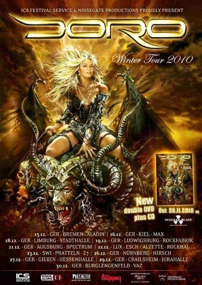 юбилейный концерт DORO 25 Years In Rock