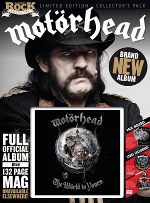 Новый альбом MOTÖRHEAD The World Is Yours в специальном издании Classic Rock