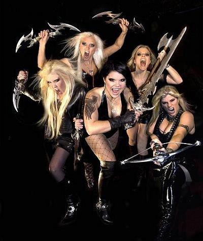 женская группа группа HYSTERICA из Швеции