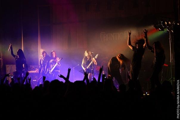 группа Frantic Amber на фестивале Tula Storm