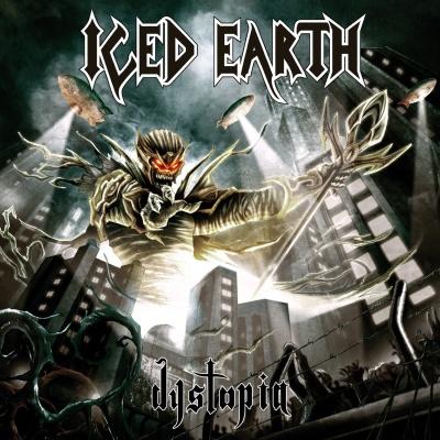 обложка альбома Iced Earth Dystopia